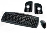 Kit Genius KMS U115 Teclado Mouse Parlantes