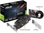 Placa Video Asus GTX 1050Ti 4GB LP