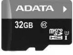 Tarjeta Micro SD 32GB ADATA con adaptador